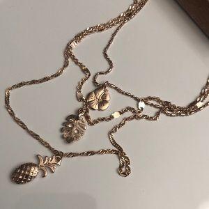 True Craft Desert Dreams Rose Gold-tone Necklace